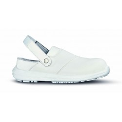 Scarpe antinfortunistiche U-Power,  White68&Black SINERGY GRIP