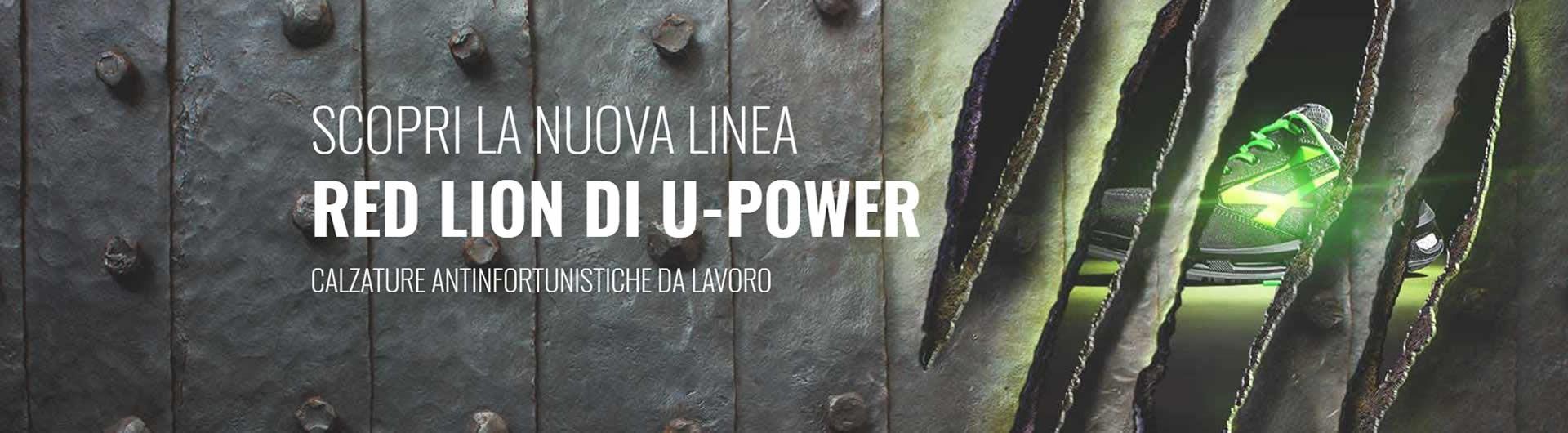 CALZATURE SCARPE ANTINFORTUNISTICHE U-POWER RED LION, offerte, miglior prezzo